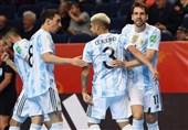 جام جهانی فوتسال| صدرنشینی آرژانتین در گروه ایران با تحقیر آمریکا + برنامه دیدارهای روز چهارشنبه