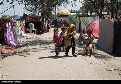کمپ پناهندگان پارک آزادی شمال شرق در افغانستان