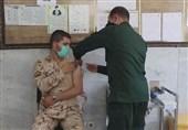 سربازان سپاه اصفهان در گام پنجم طرح شهید سلیمانی واکسینه شدند