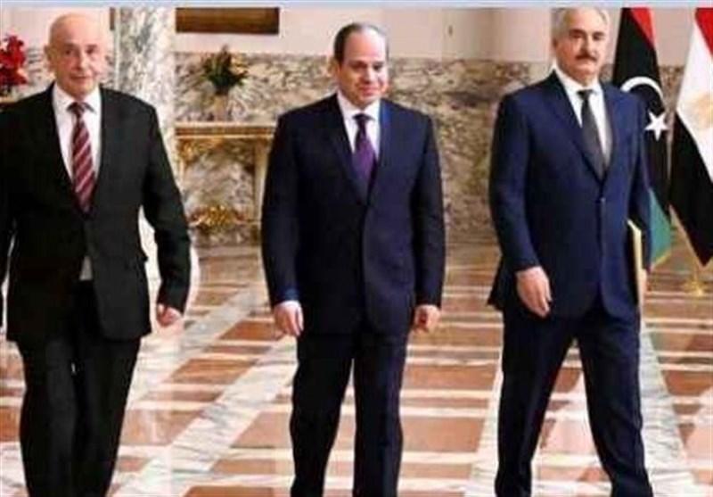 سفر مقامات لیبیایی به قاهره/ تاکید السیسی بر خروج شبه نظامیان خارجی از لیبی