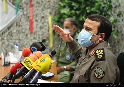 نشست خبری سردار بهمن کارگر رئیس ستاد مرکزی گرامیداشت مناسبتهای ملی دفاع مقدس و مقاومت