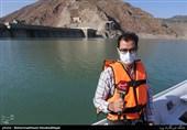 60 درصد مخزن سد لتیان خالی است / احتمال بروز مشکلات اساسی در تأمین آب تهران + فیلم