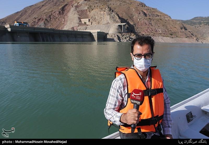 گزارش میدانی خبرنگار تسنیم| 60 درصد مخزن سد لتیان خالی است / احتمال بروز مشکلات اساسی در تأمین آب تهران + فیلم
