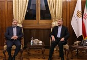 امیر عبداللهیان یؤکد على ضرورة تعزیز العلاقات الایرانیة - اللبنانیة