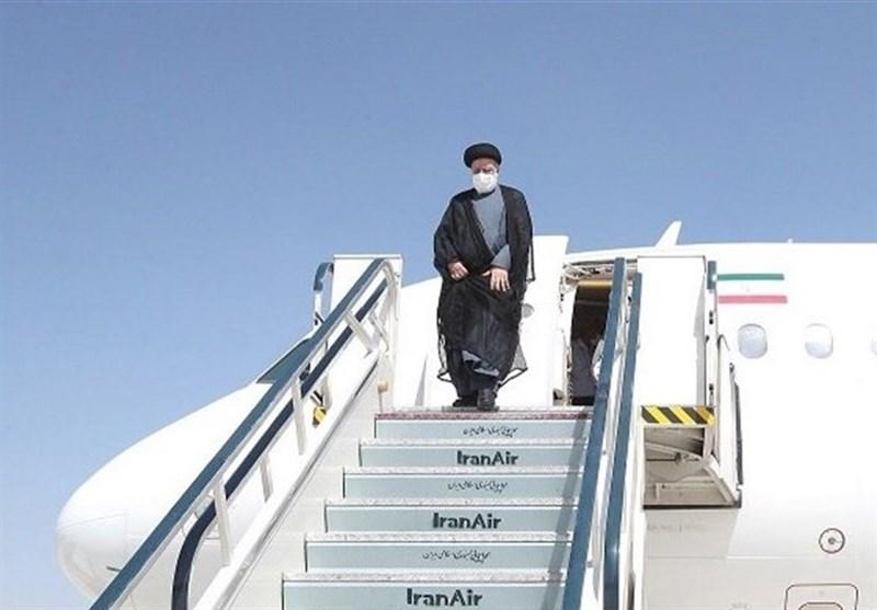 رئیسی یختتم زیارته الى طاجیکستان ویعود الى أرض الوطن