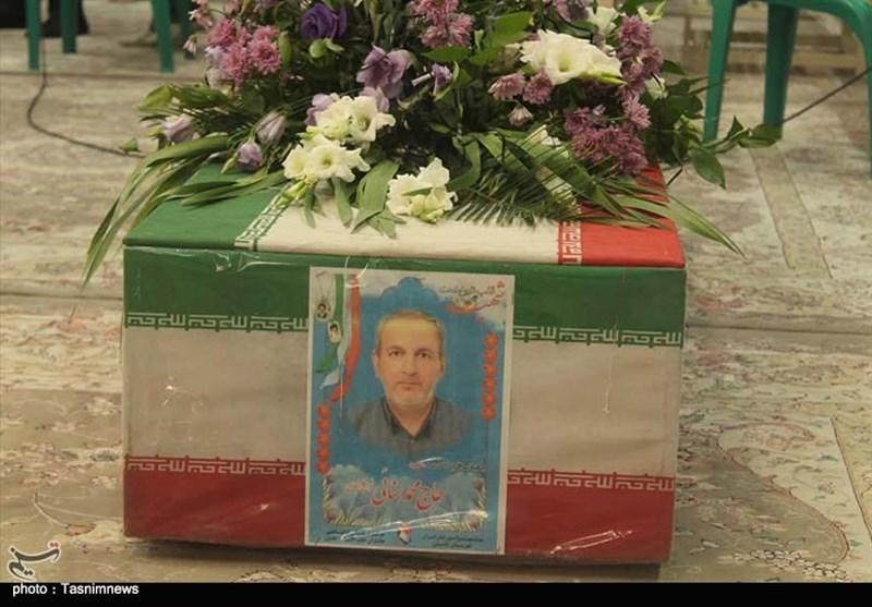 """تشییع پیکر جانباز شهید """"محمد سنایی"""" در کاشان به روایت تصویر"""
