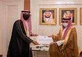 نامه ولیعهد و وزیر دفاع کویت برای محمد بن سلمان