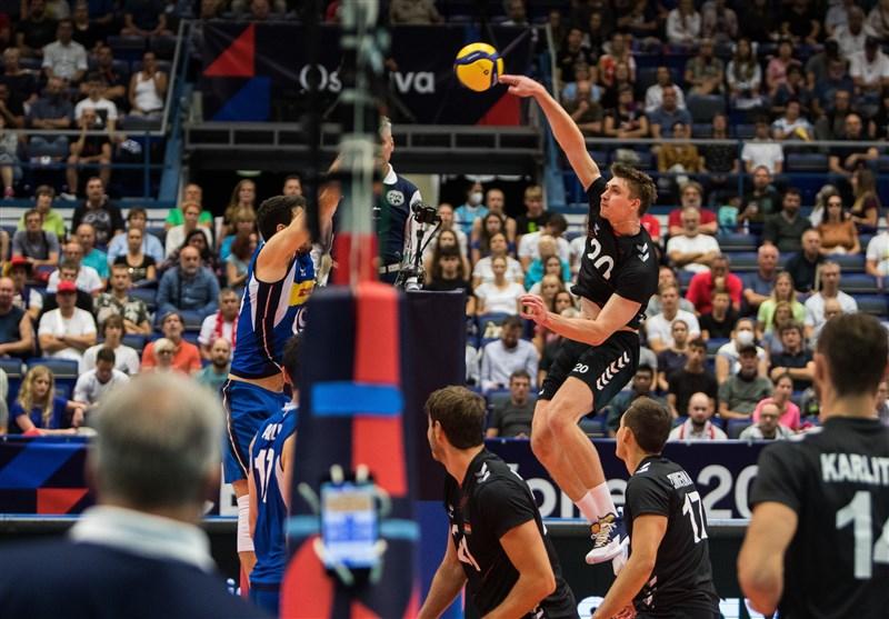 والیبال قهرمانی اروپا  ایتالیا و اسلوونی به نیمهنهایی رسیدند