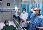 وزیر بهداشت از بیمارستان امام رضا(ع) کرمانشاه بازدید کرد + تصاویر