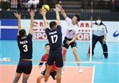 والیبال قهرمانی آسیا| کره حرفی برای گفتن مقابل ایران نداشت/ قطر شگفتیساز شد