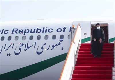 آیتالله رئیسی وارد پایتخت تاجیکستان شد