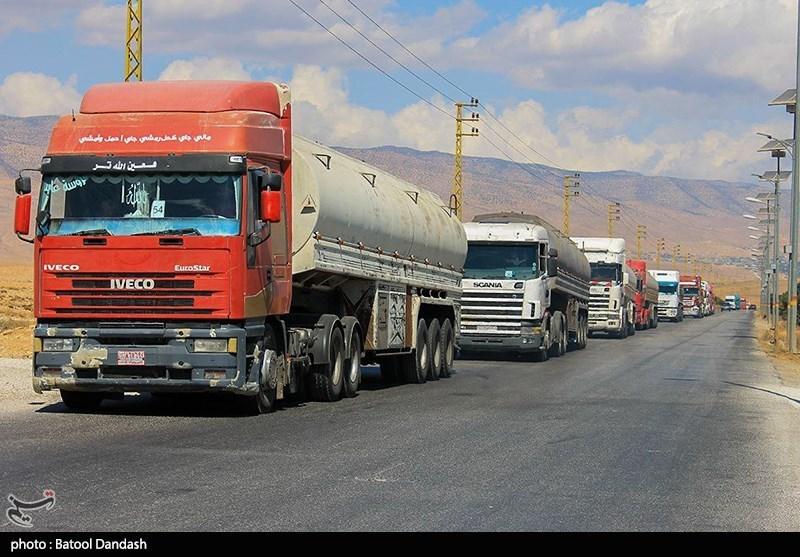 ورود تانکرهای حمل سوخت به لبنان