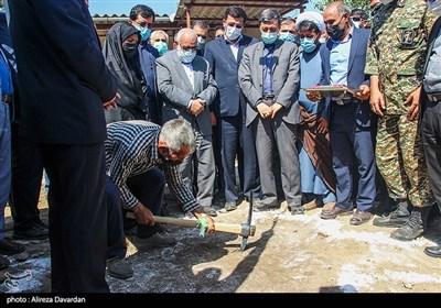 مراسم آغاز عملیات اجرایی مسکن محرومان سراسر کشور - اردبیل