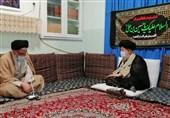 وزیر اطلاعات با آیت الله علوی گرگانی دیدار کرد