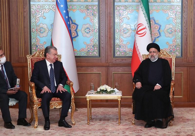 """رئیسی در دیدار """"شوکت میرزایف"""": سطح روابط اقتصادی ایران و ازبکستان باید ارتقا یابد"""