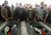 رئیس مجلس در گلزار شهدا و مزار امام جمعه فقید بهشهر حضور یافت