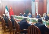 دیدار وزرای خارجه ایران و چین در آستانه برگزاری اجلاس سران شانگهای در تاجیکستان