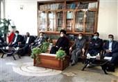 رئیس بنیاد مستضعفان با نماینده ولی فقیه در استان اردبیل دیدار کرد