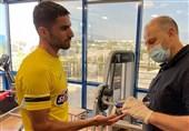 حضور میلاد محمدی در تستهای پزشکی آاِک /فردا اعلام انتقال رسمی + عکس