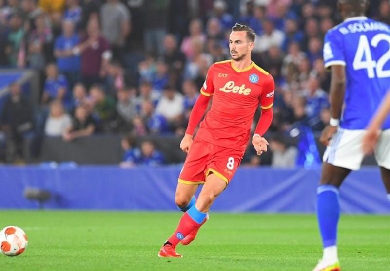 لیگ اروپا  ناپولی از شکست مقابل لسترسیتی فرار کرد/ پیروزی تیمهای فرانسوی و توقف فرانکفورت