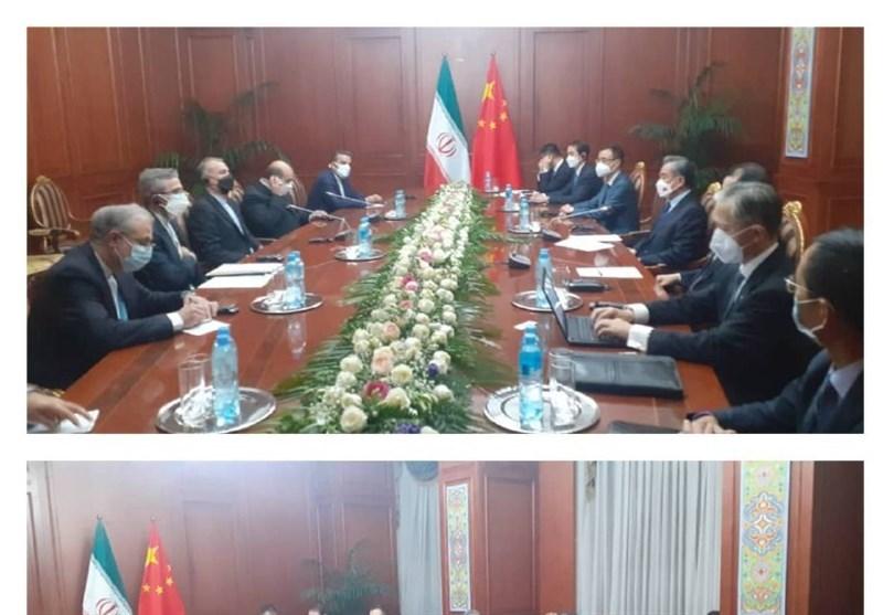 وزیر الخارجیة الایرانی یلتقی نظیره الصینی فی طاجیکستان