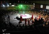 نخستین سوگواره تعزیه محمدآباد زرند برگزار شد+تصاویر