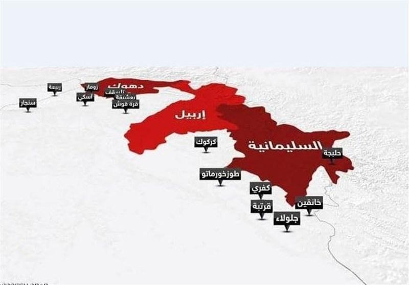 وضعیت استقرار گروههای مسلح کُرد ایرانی و ترکیهای در اقلیم کردستان عراق