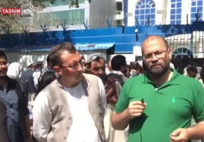 گزارش تسنیم از افغانستان تجمع برای برداشت پول از بانک در کابل