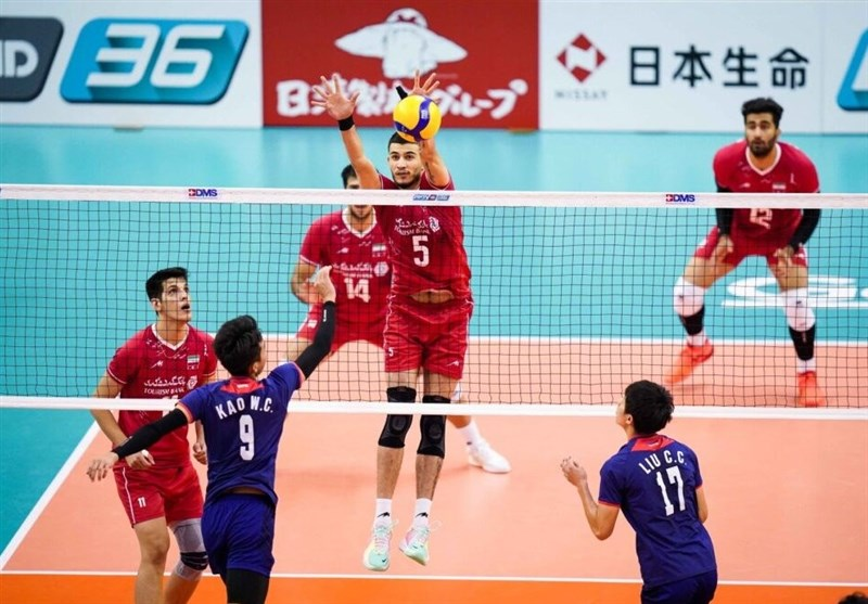 والیبال قهرمانی آسیا| چین حریف ایران در نیمهنهایی شد,