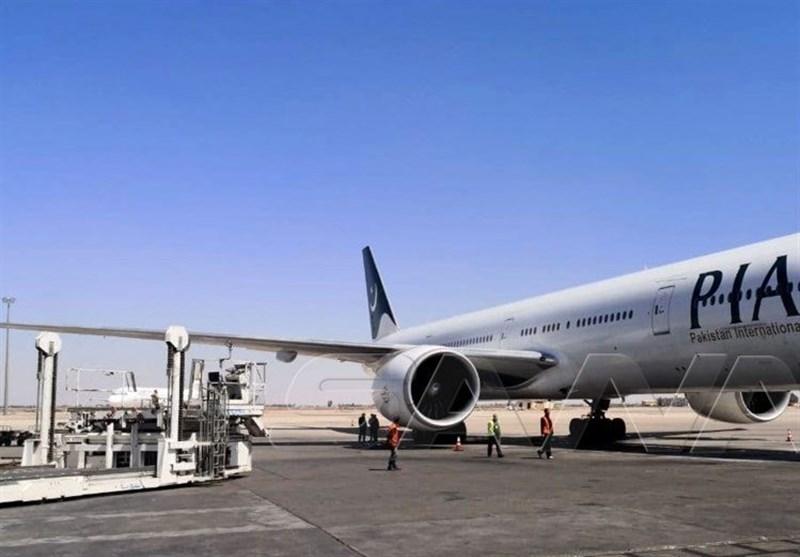 لأول مرة منذ 10 سنوات.. طائرة للخطوط الجویة الباکستانیة تهبط فی دمشق