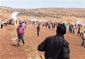 زخمی شدن دهها فلسطینی در کرانه باختری به دست نظامیان صهیونیست