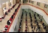 برگزاری دومین آزمون صلاحیت حرفهای گروه پرستاری در دانشگاه علوم پزشکی استان سمنان به روایت تصویر