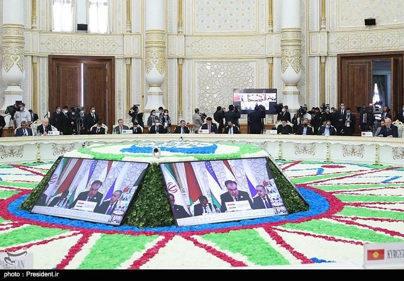 حضور رئیس جمهور دراجلاس سران سازمان همکاری شانگهای