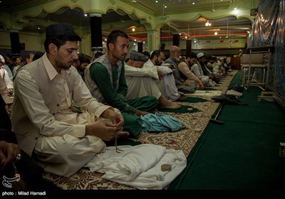 برگزاری نماز جمعه در قندهار / افغانستان