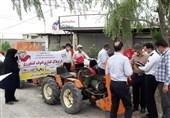 خودروهای کشاورزی بدون پلاک بیمه نمیشوند/ پلاکگذاری 4 هزار وسلیه نقلیه مازندران در 2 هفته + فیلم
