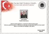 Irak'ın Kuzeyinde Bir Türk Askeri Hayatını Kaybetti