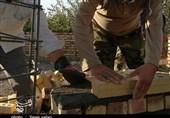"""اردوهای جهادی بسیجیان در روستای """"گرمت دزپا""""؛ دلگرمی روستائیان با حضور جهادگران دانشجو + فیلم"""