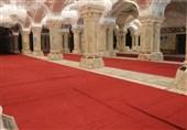 تصاویر// صحن حضرت زهرا(س) در نجف و محل طرح توسعه حرم حسینی در کربلا آماده پذیرایی از زائران اربعین