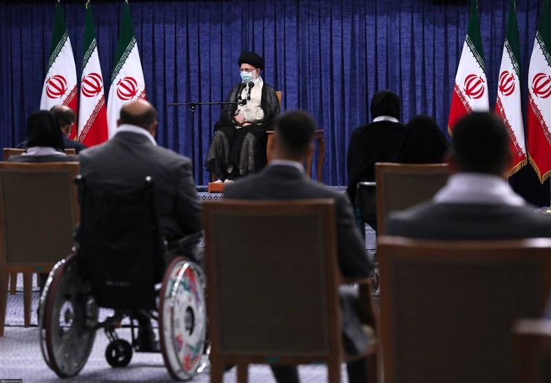 قهرمانان المپیک و پارالمپیک با امام خامنهای دیدار کردند