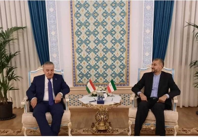 Iranian, Tajik FMs Discuss Bilateral Ties, Afghanistan
