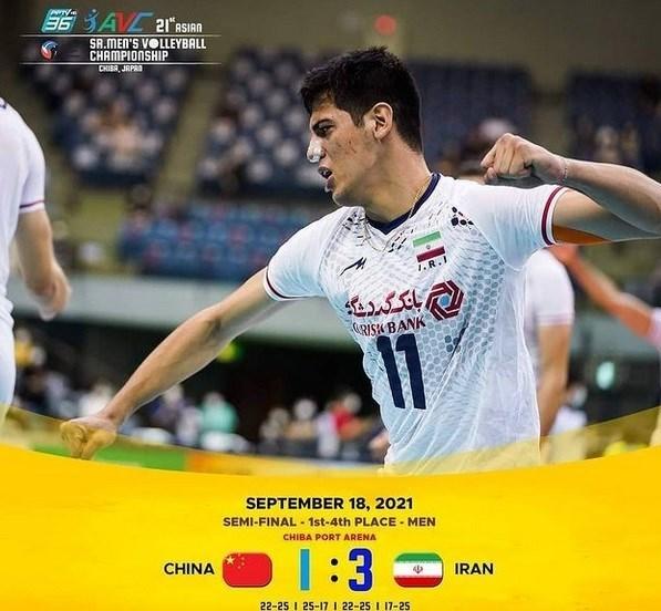 والیبال , والیبال قهرمانی آسیا ,