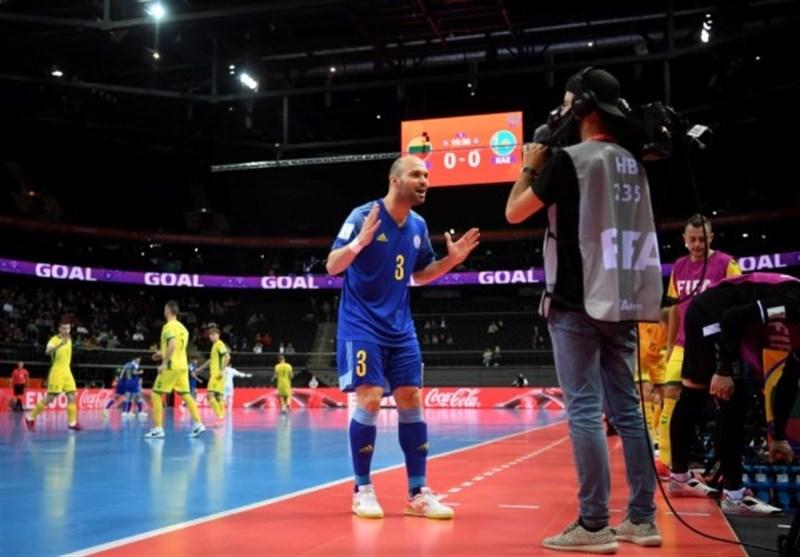 جام جهانی فوتسال| ستاره قزاقستان: ایران مدعی قهرمانی در جام جهانی است