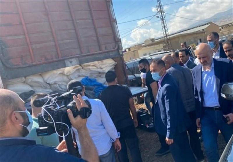 وزارت کشور لبنان از کشف و توقیف کامیون حامل نیترات آمونیوم خبر داد