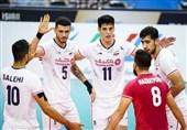 ایران تفوز على الصین وتتاهل الى نهائی البطولة الاسیویة لکرة الطائرة
