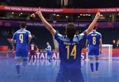 جام جهانی فوتسال  قزاقستان و روسیه بهعنوان صدرنشین صعود کردند/ ازبکستان؛ حریف احتمالی ایران + برنامه دیدارهای فردا