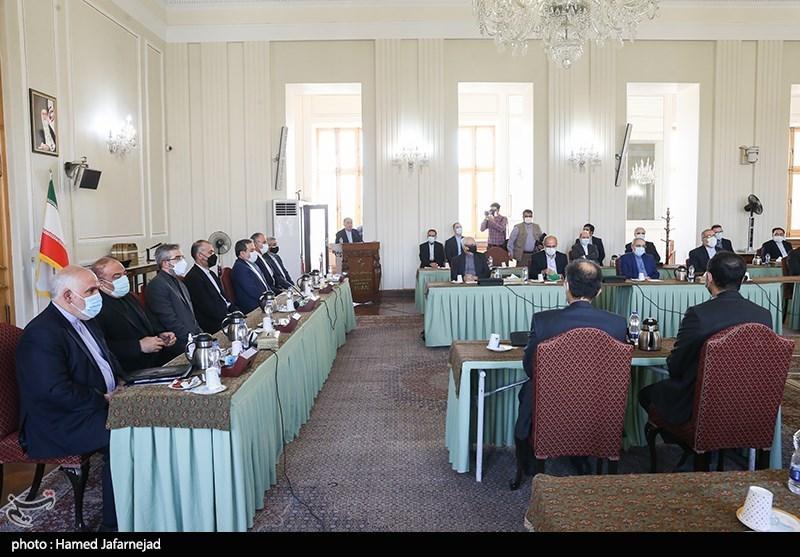 معارفه معاونین سیاسی،دیپلماسی اقتصادی و مالی وزارت خارجه با حضور حسین امیرعبداللهیان وزیر امور خارجه