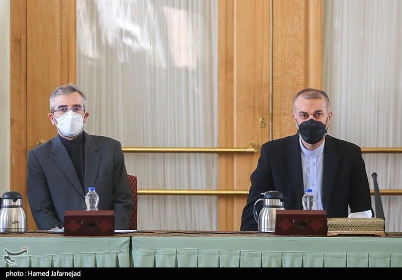 حسین امیرعبداللهیان وزیر امور خارجه و علی باقری معاون سیاسی وزارت خارجه