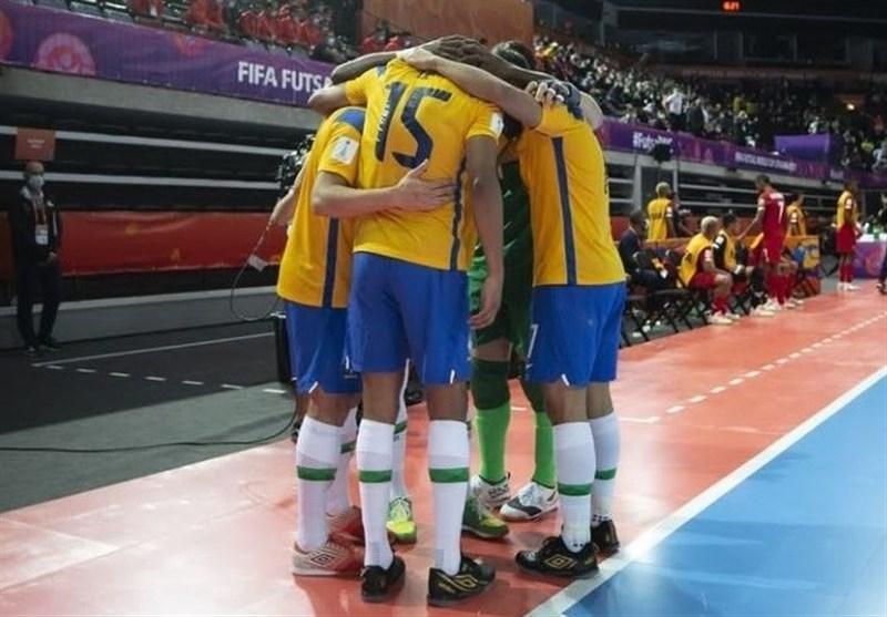 جام جهانی فوتسال| صدرنشینی برزیل و پرتغال و صعود ۲ نماینده آسیا + برنامه دیدارهای دوشنبه