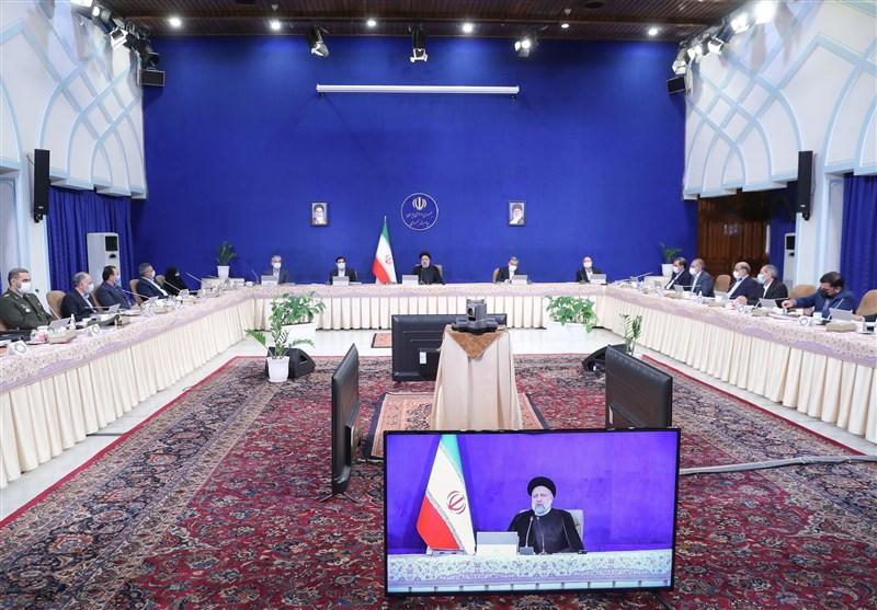 رئیسی یصدر أمرا الى الوزارات لتحدید طاقات التعاون مع منظمة شنغهای