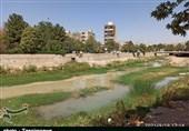 رودخانه طغیانگر خرمآباد متولی ندارد؛ زندگی مردم قربانی اختلاف بین دو اداره+ تصاویر
